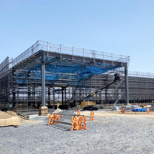 茨城県古河市 某倉庫新築工事